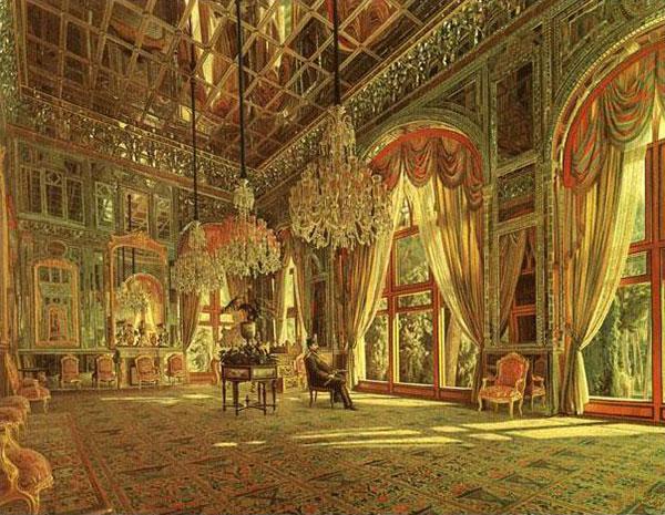 تابلوی نقاشی تالار آیینه کاخ گلستان