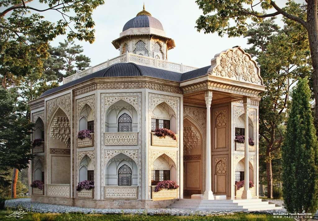 طراحی نما با معماری ایرانی