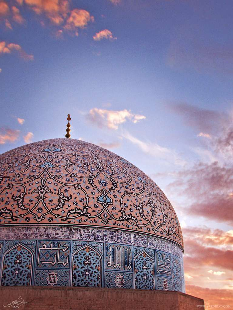 مدلسازی سه بعدی گنبد مسجد شیخ لطف الله