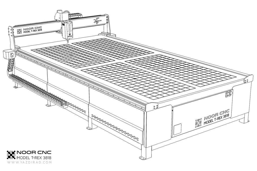 Noor CNC T-Rex